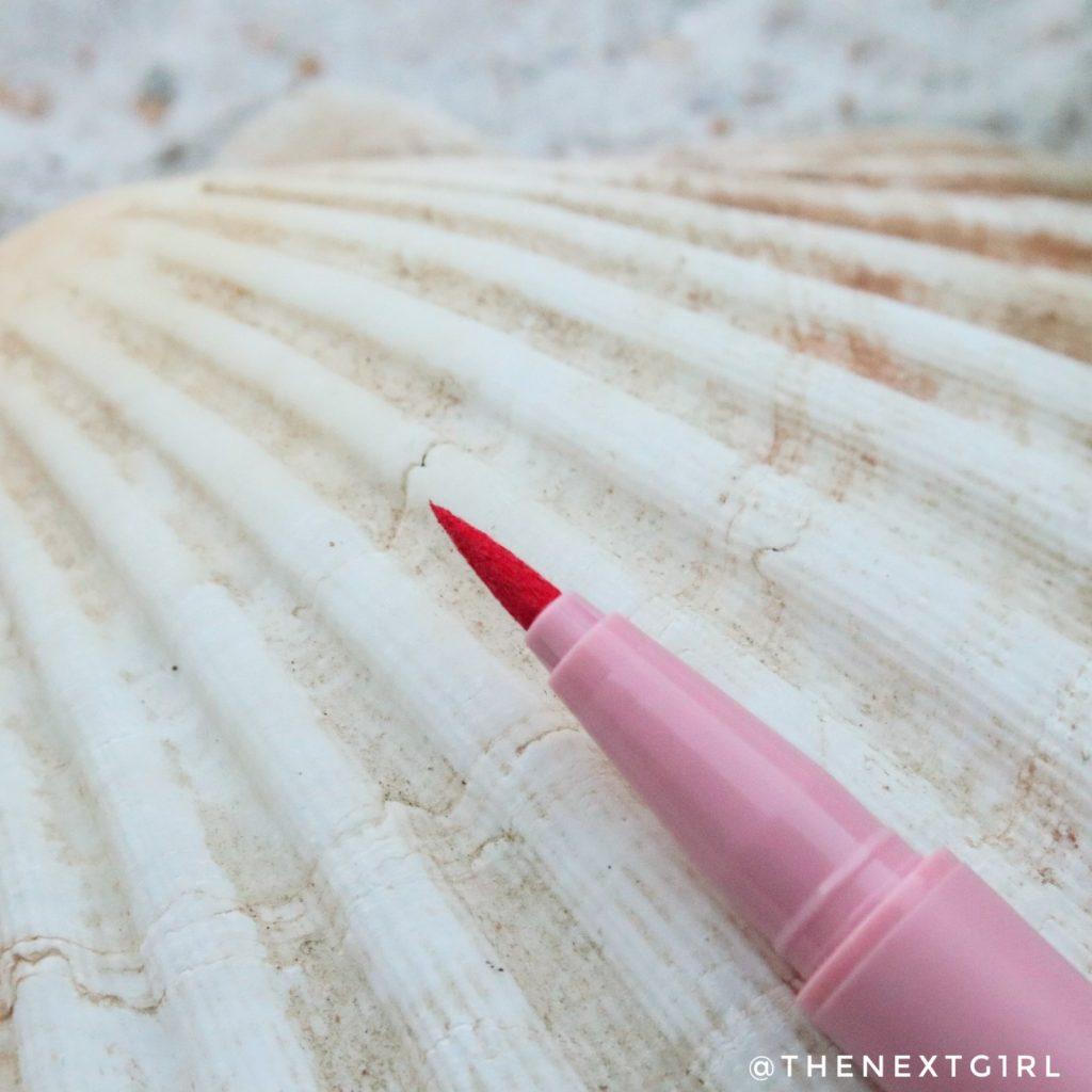 Soda Makeup Kruidvat eyemarker roze punt