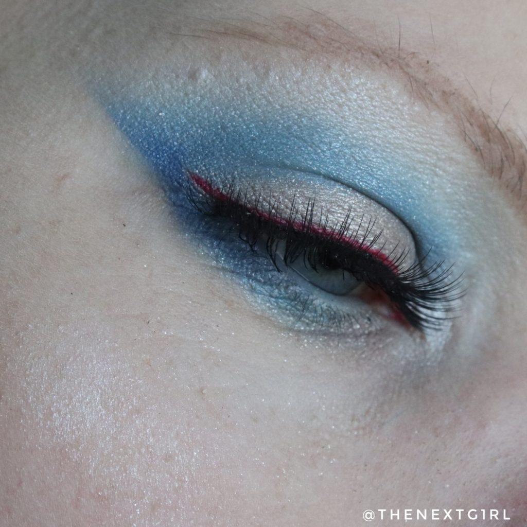 Soda makeup kruidvat ooglook mermaid palette