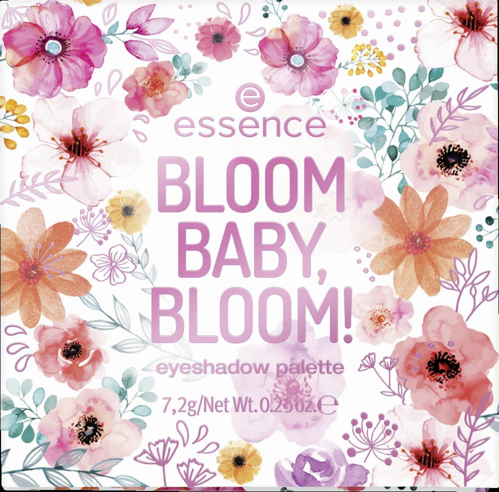 Essence lente 2020 oogschaduw palette Bloom baby, bloom!