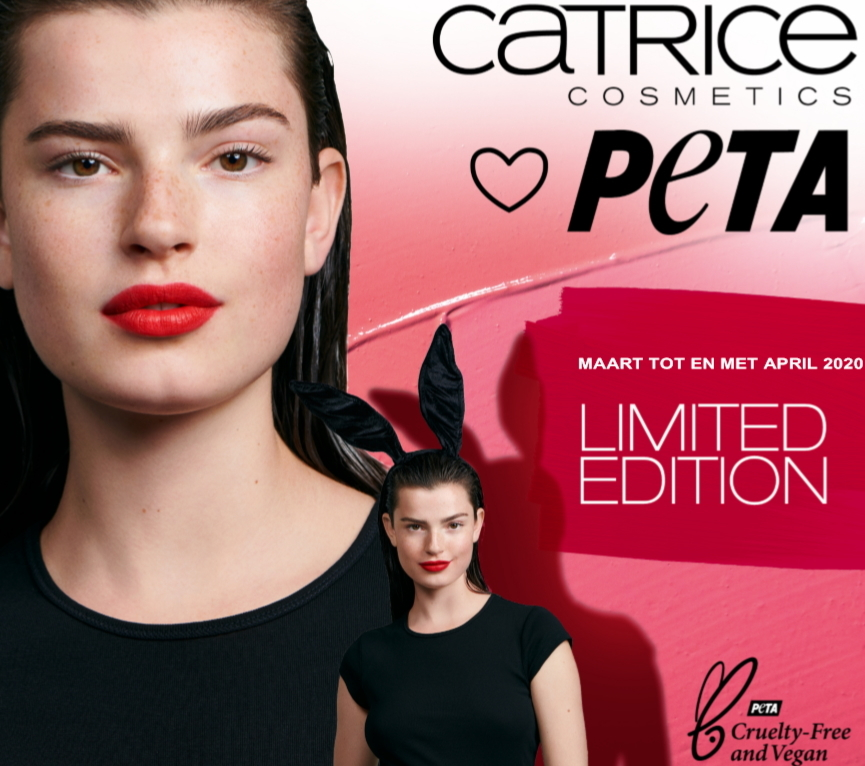 Catrice loves PETA Limited edition lipsticks