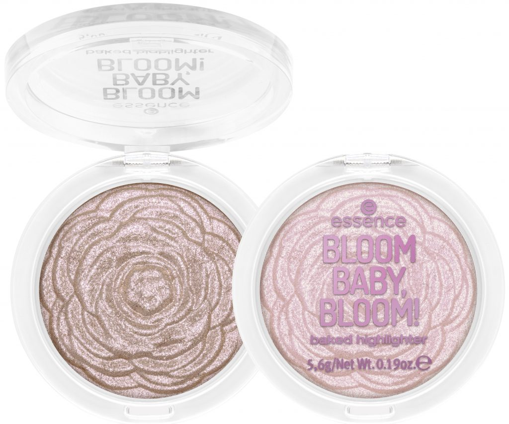 Essence Bloom baby highlighters baked daisy