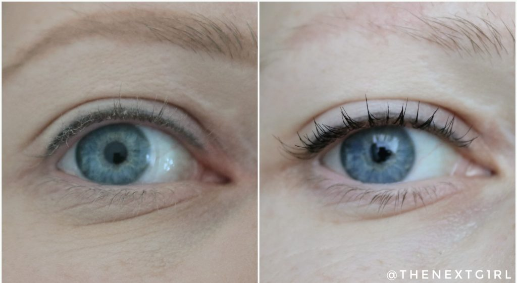 Max&More High Definition mascara swatch 1
