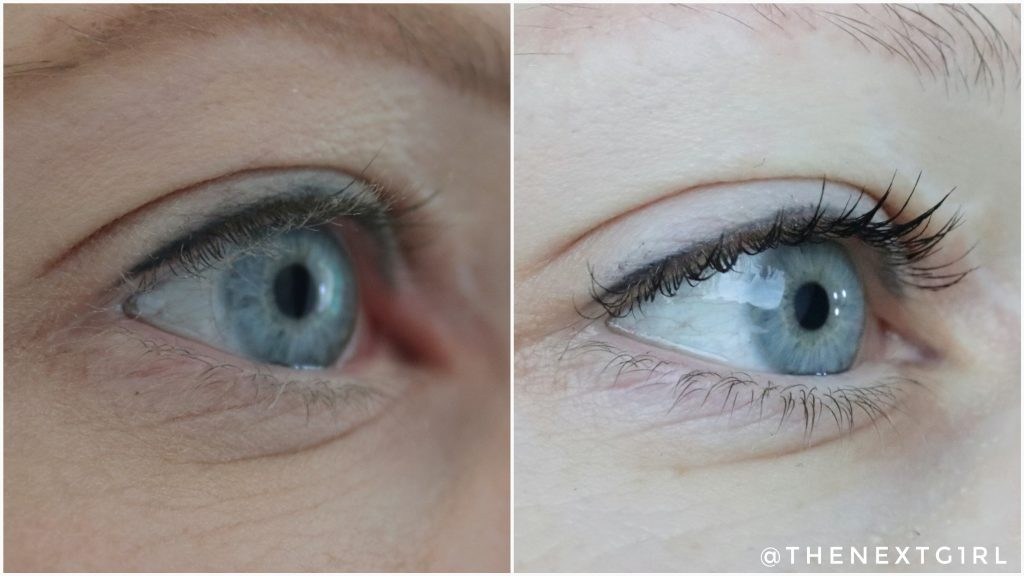 Max&More High Definition mascara swatch 2