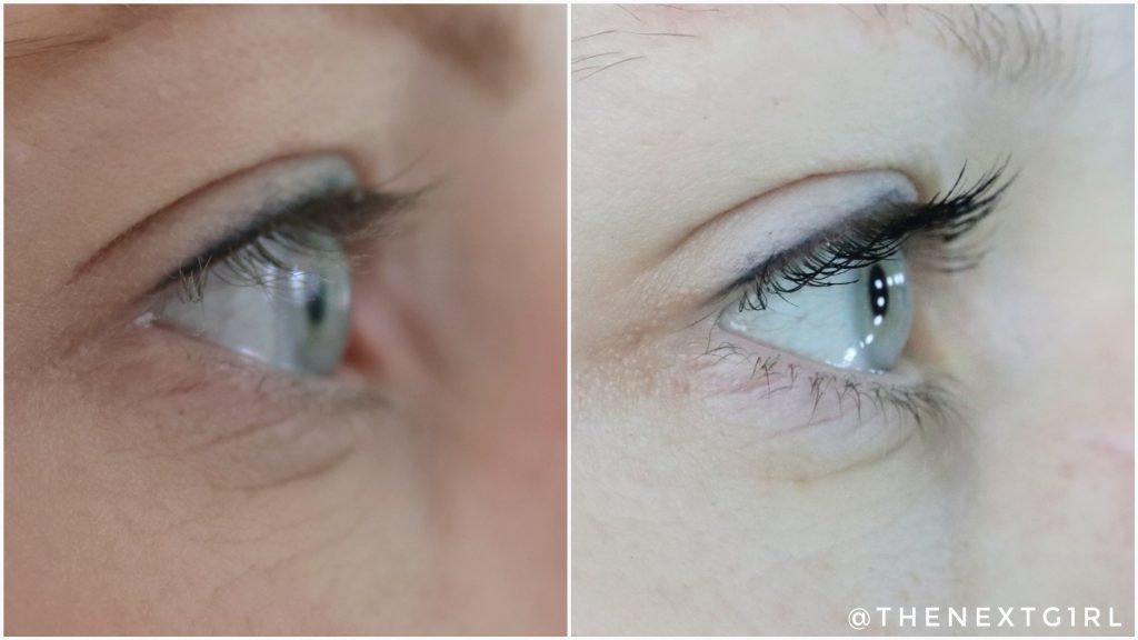 Max&More High Definition mascara swatch 3
