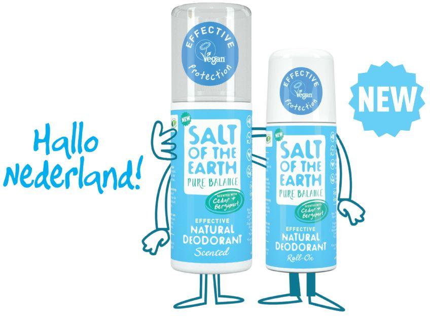 Salt of the Earth natuurlijke deodorant nieuw