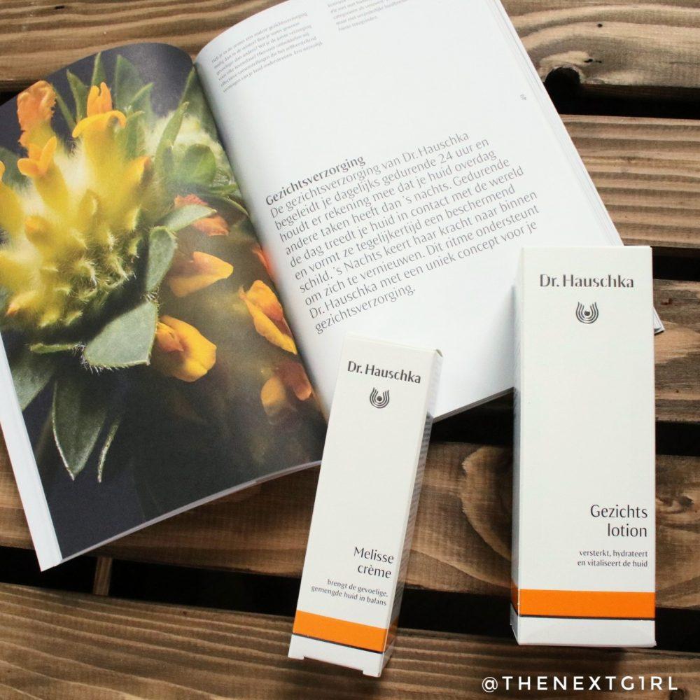 Dr. Hauschka Melisse crème verpakkingen gezichtslotion