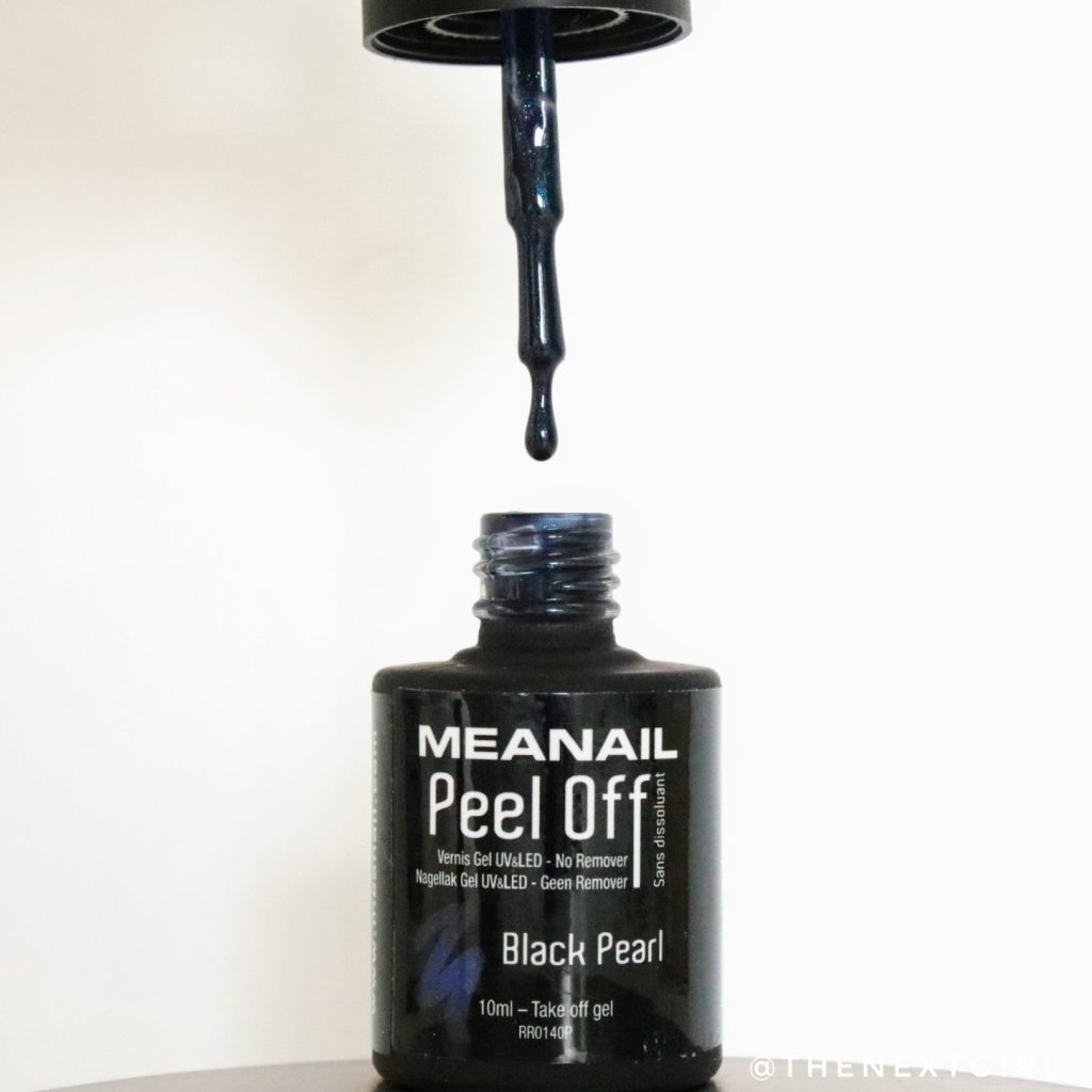 Meanail paris peel off nagellak Black Pearl