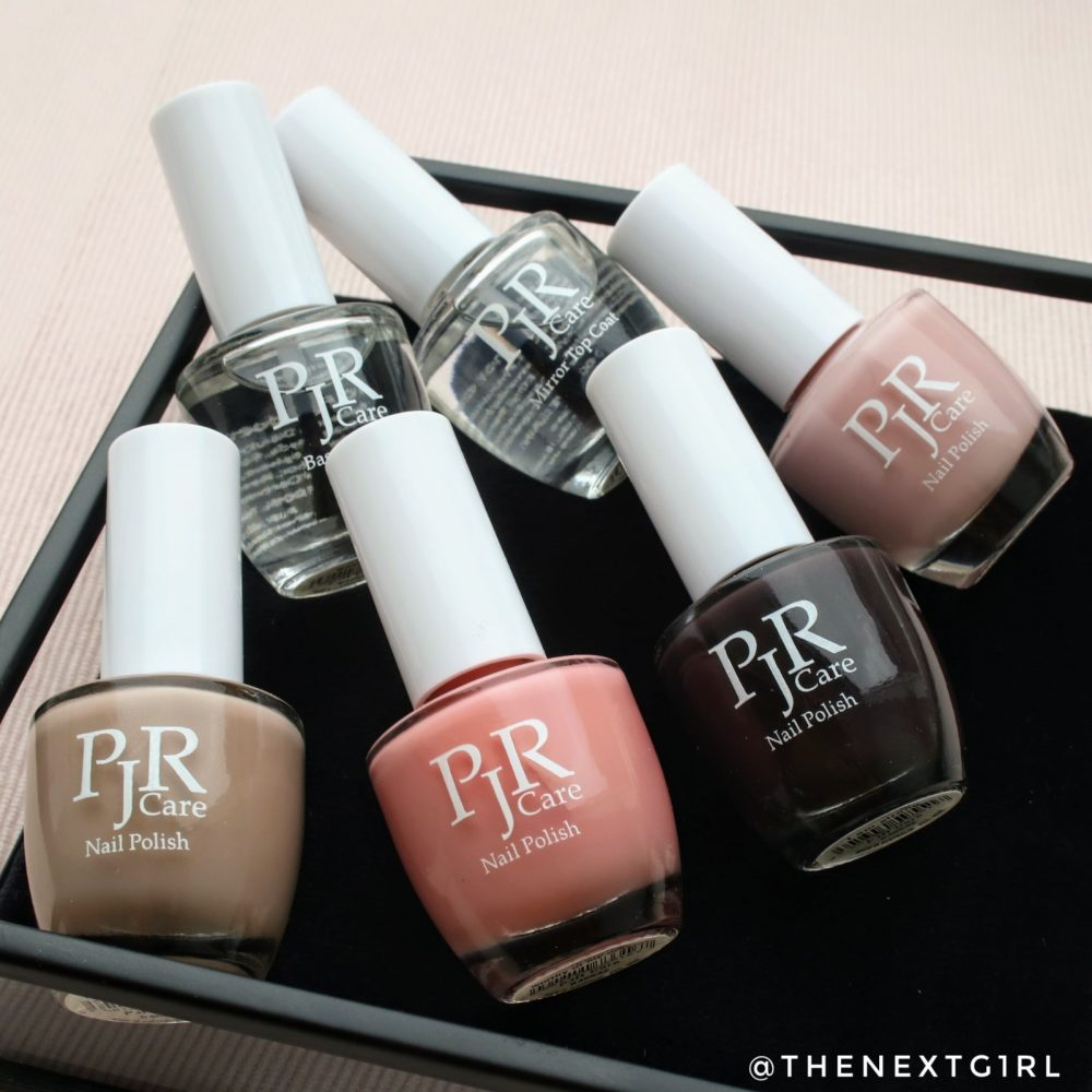 PJR Care nagellak kleuren top base coat