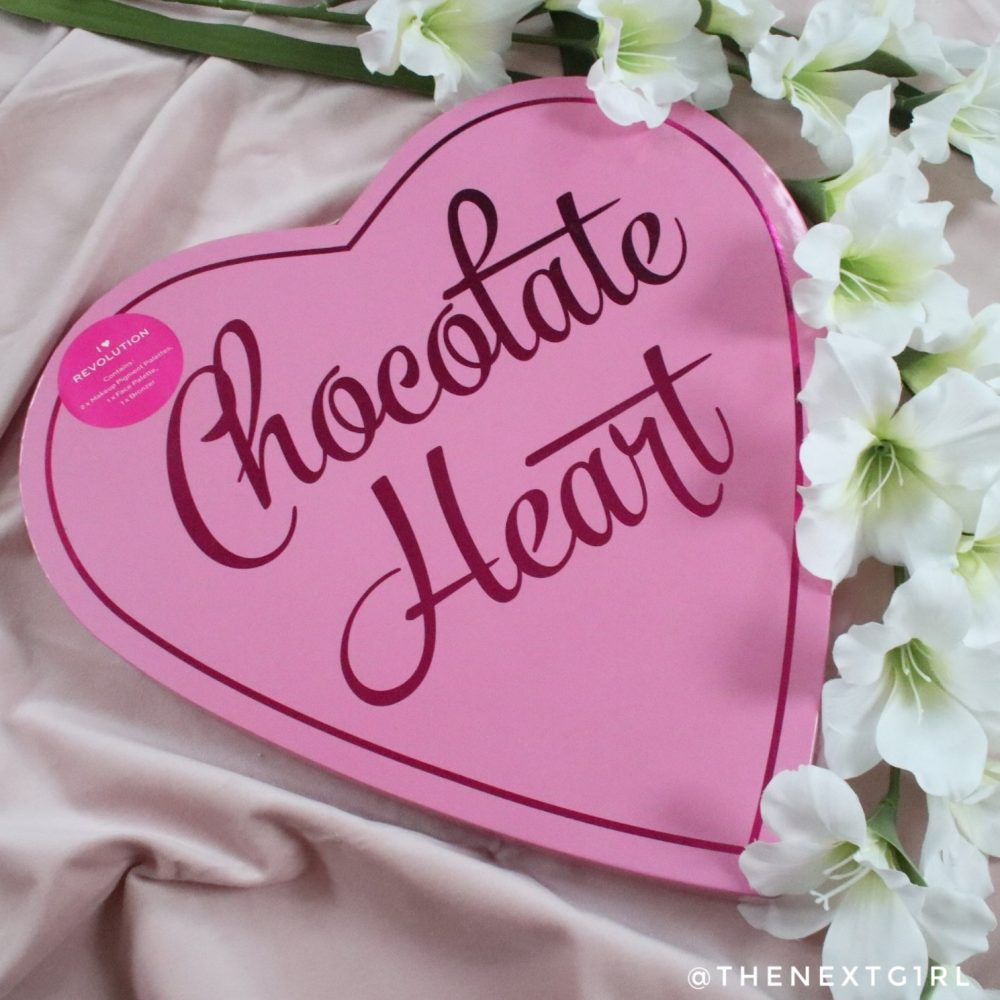 I heart Revolution chocolate heart giftset
