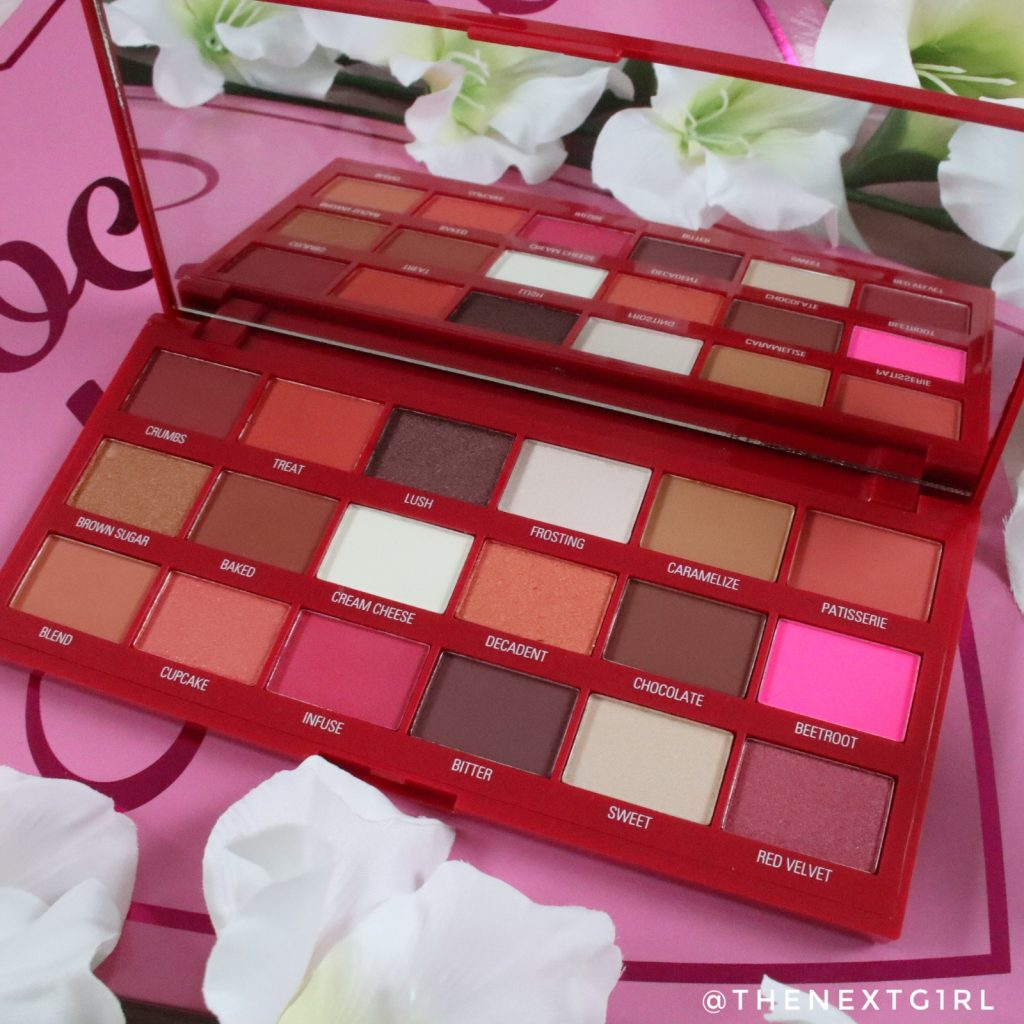 I Heart Revolution Red Velvet palette