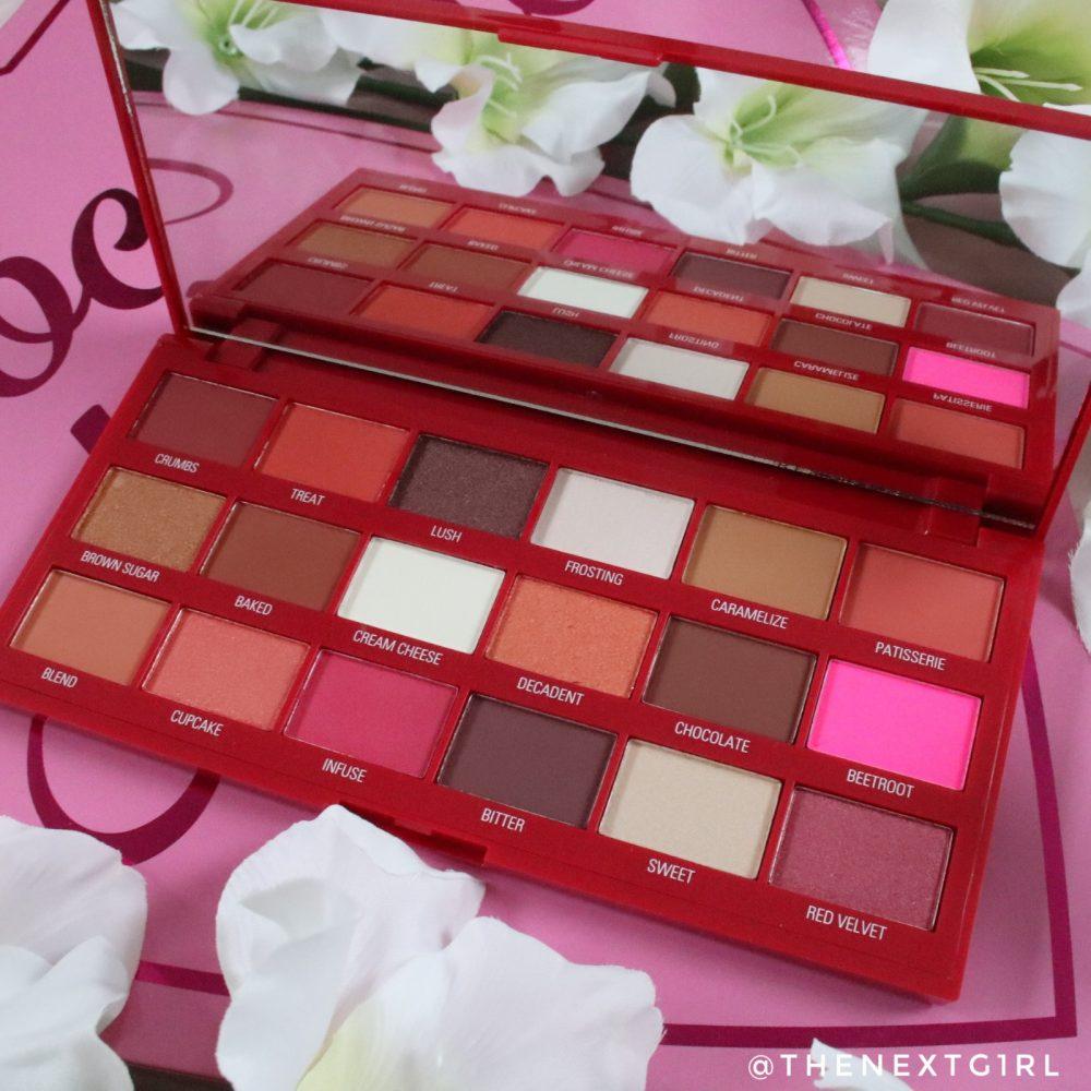 I Heart Revolution Red Velvet palette