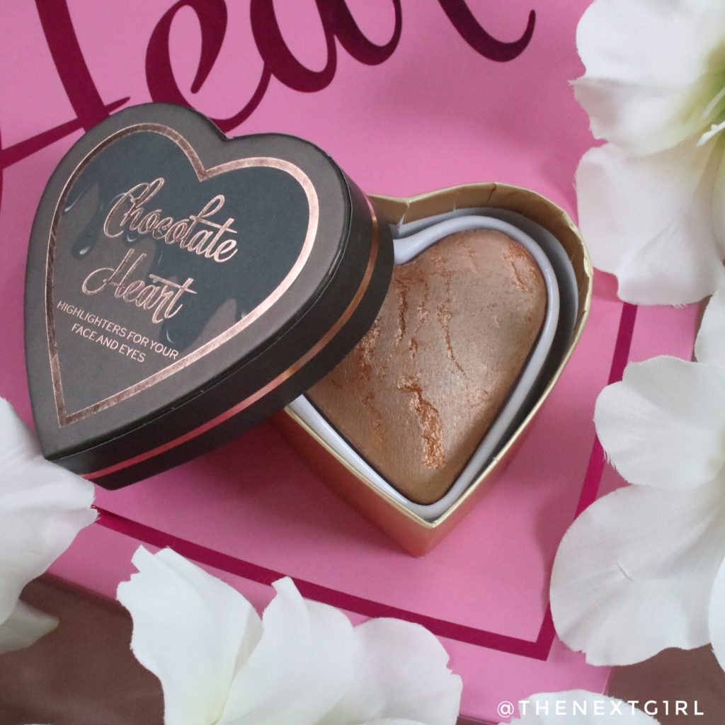 I heart Revolution chocolate heart bronzer