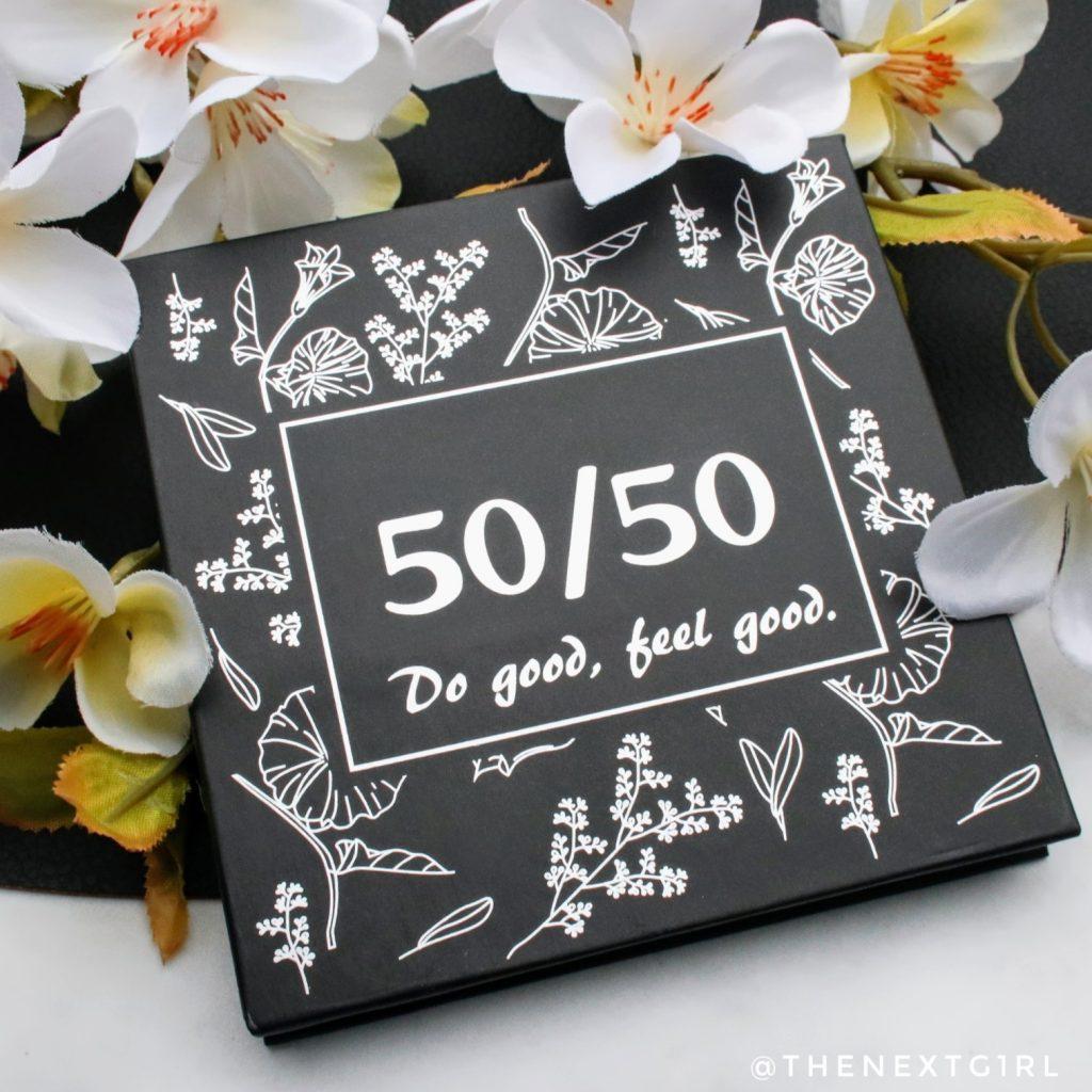 50/50 makeup Spring Palette