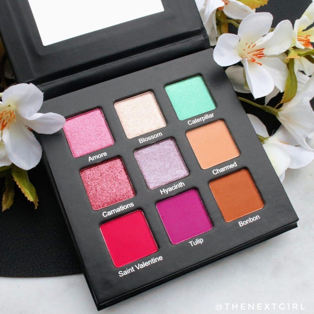 fifty/fifty makeup Spring Palette kleuren