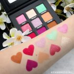 fifty/fifty makeup Spring Palette swatches