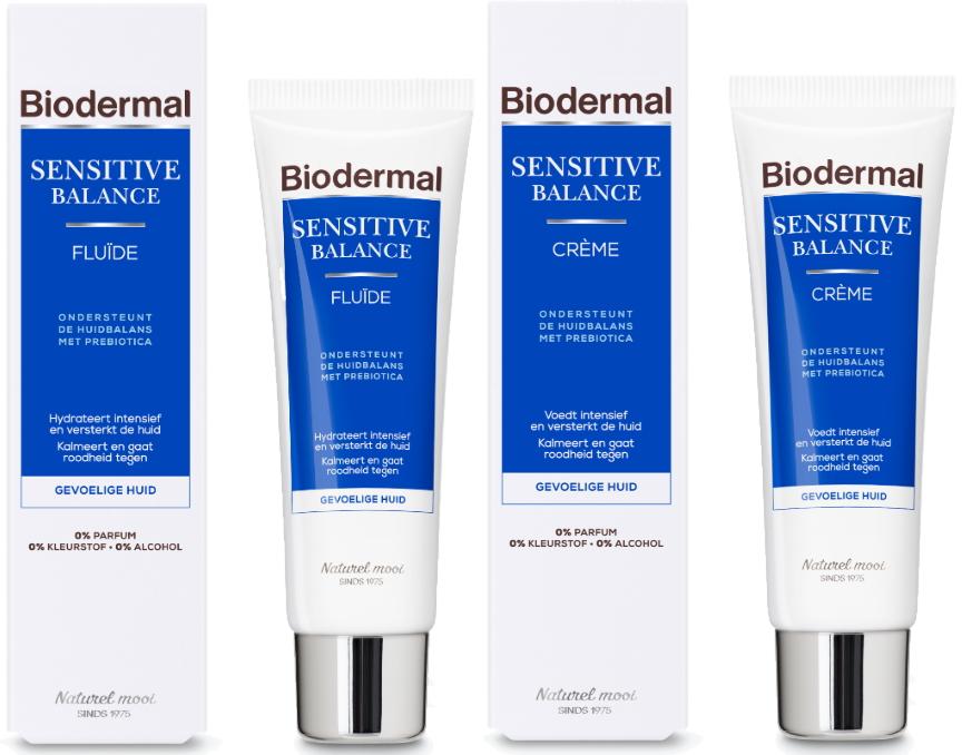 Biodermal Sensitive Balance fluide creme
