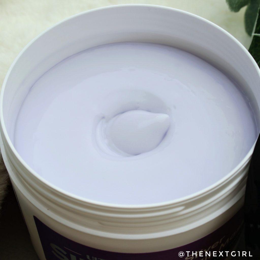 Ultra Silver Hair Care Mask Action zilver haarmasker substantie
