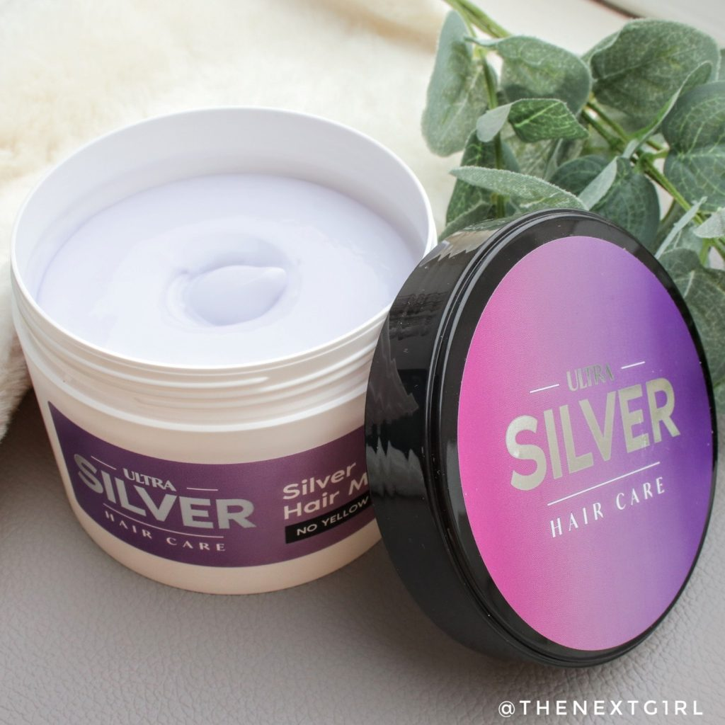 Ultra Silver Hair Care Mask Action zilver haarmasker verpakking