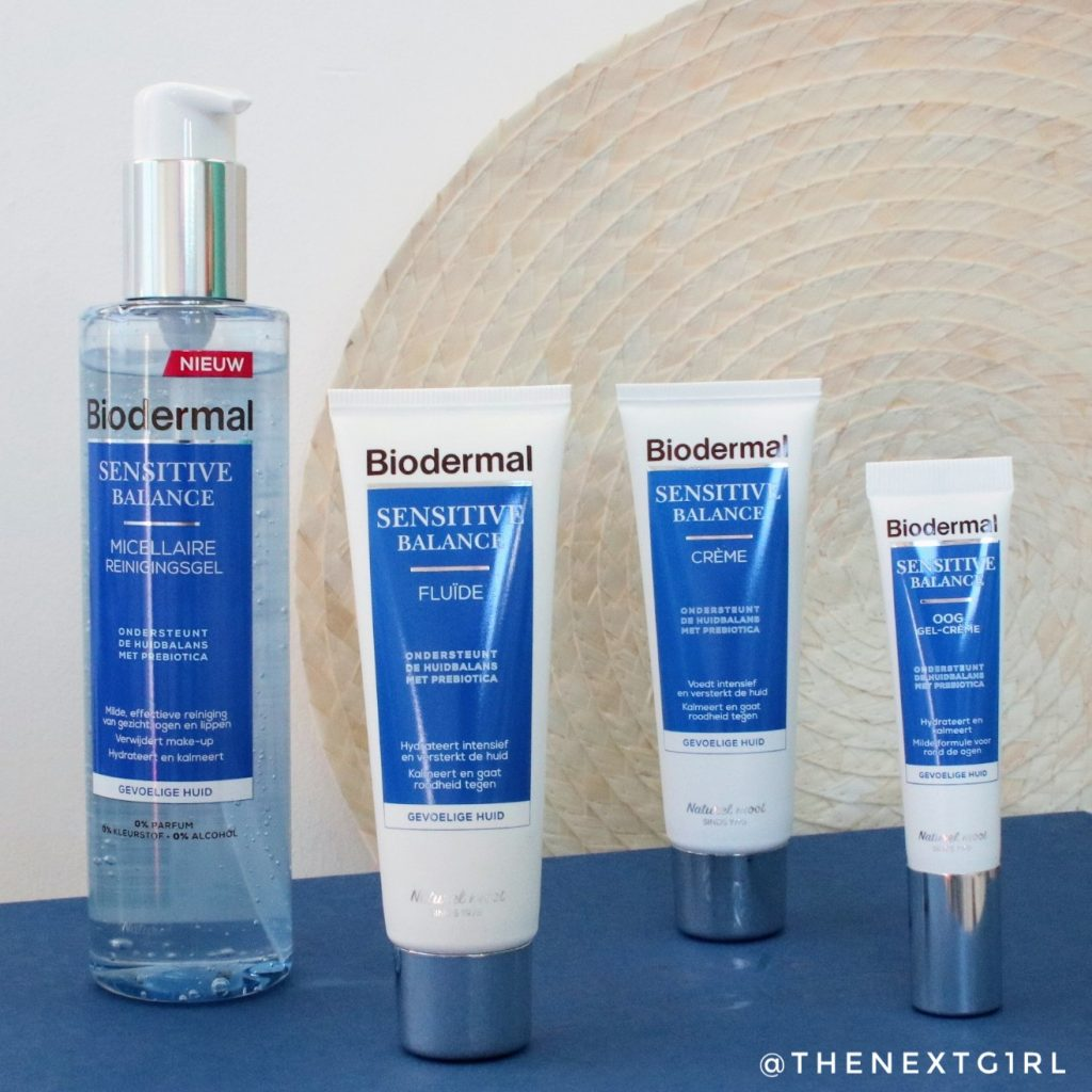 Biodermal Sensitive Balance productlijn