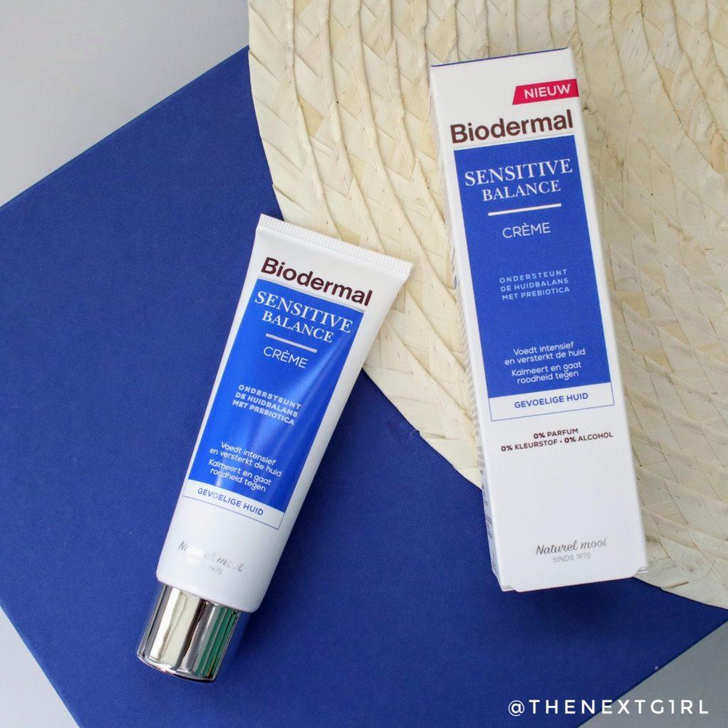 Biodermal Sensitive Balance creme verpakking