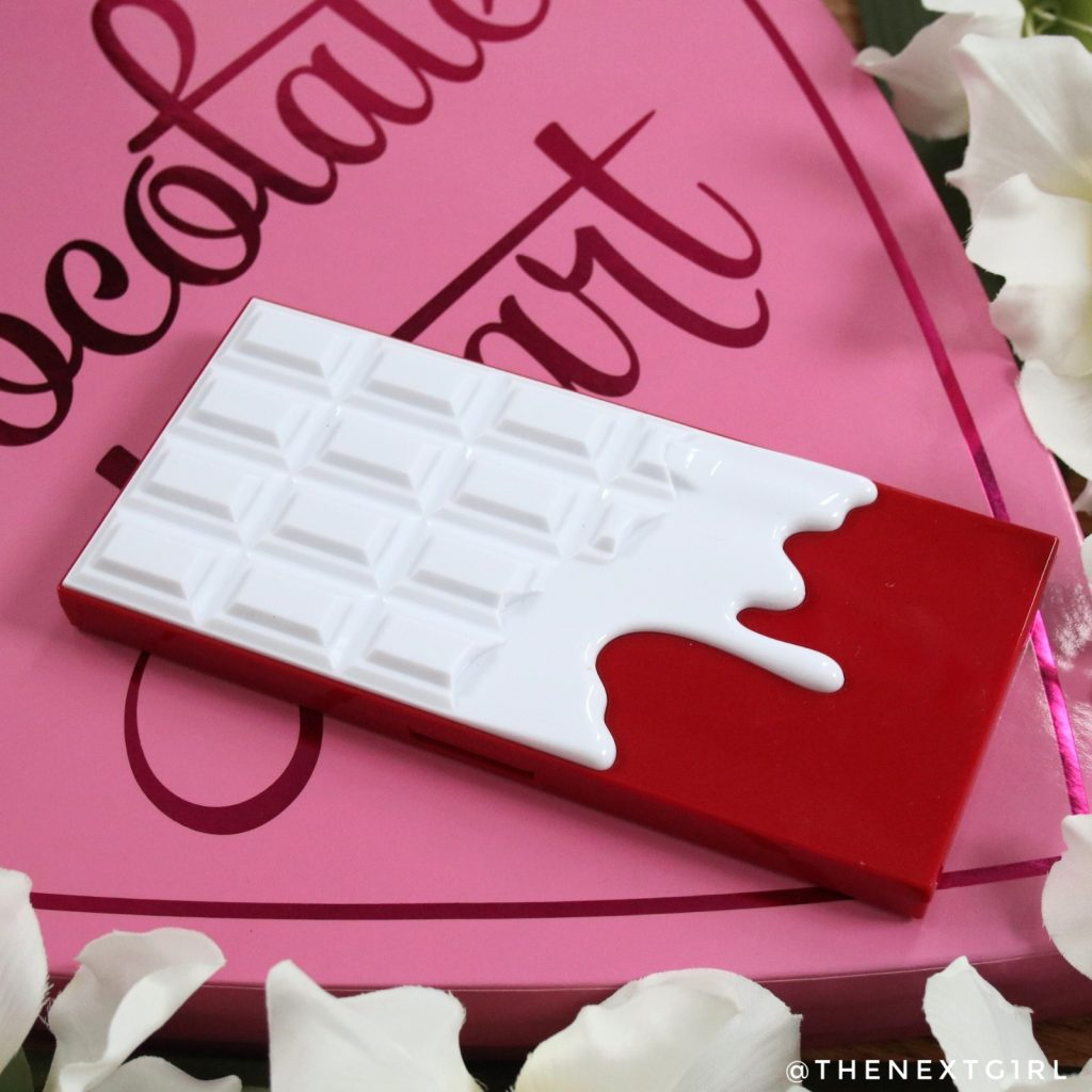 I Heart Revolution Red Velvet Chocolate palette verpakking