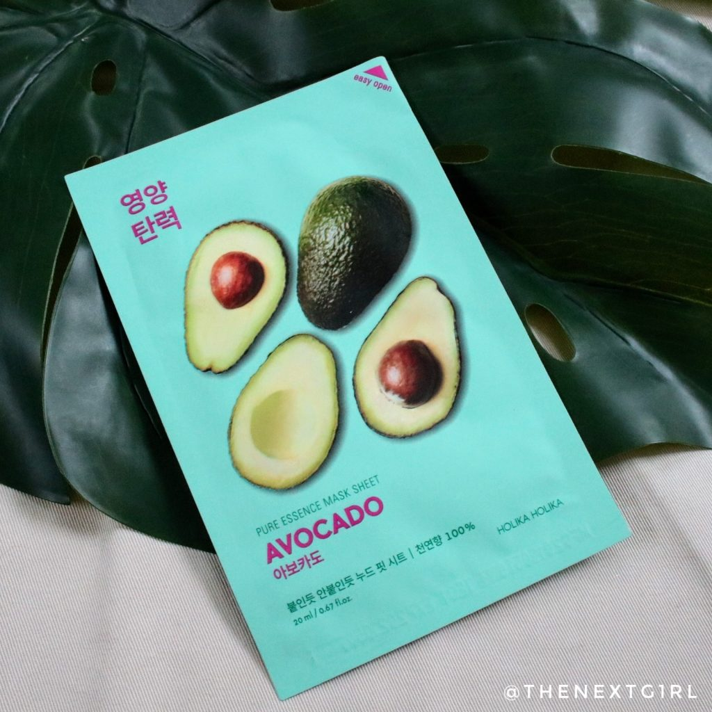 Holika Holika Avocado sheetmask