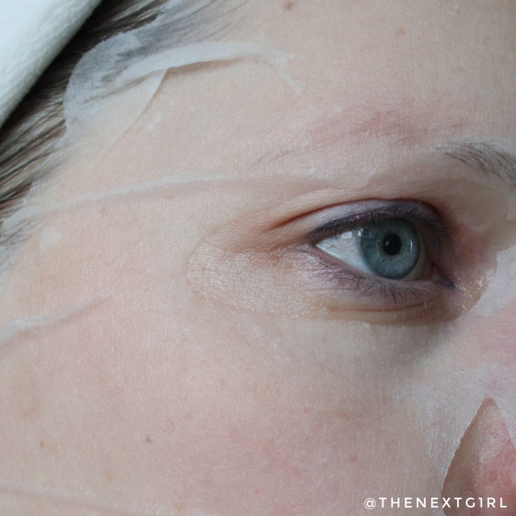 Innisfree Aloe Vera sheetmasker pasvorm