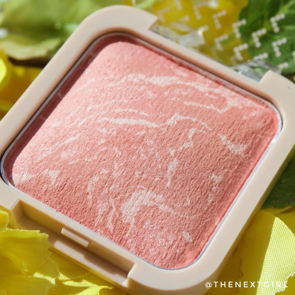 Kruidvat Velvet Glow Baked Blush Pastel Peach