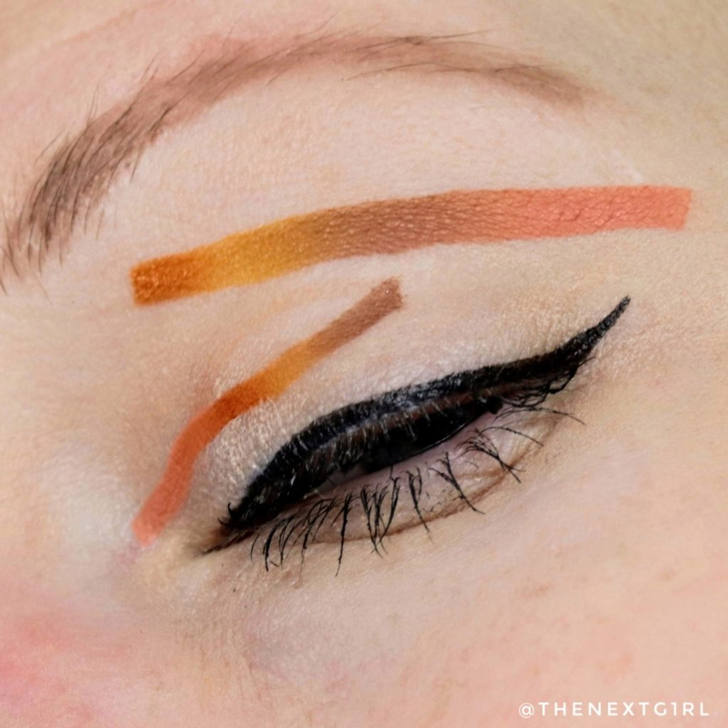 Artistic eyelook peanut butter cup chocolate palette