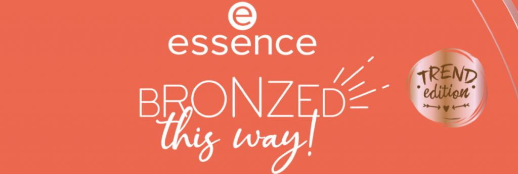Banner Essence LE BRONZED this way! zomer juni 2020