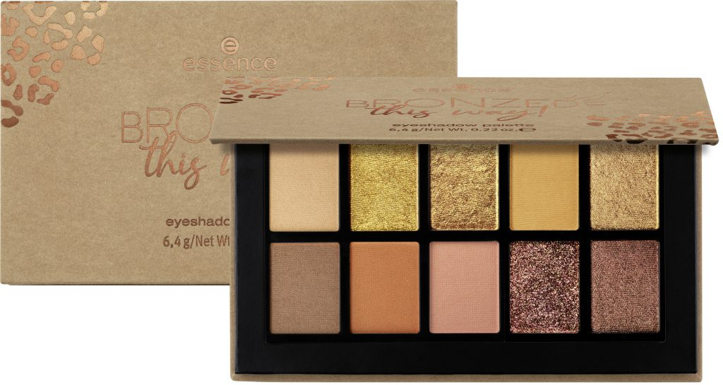 Essence LE BRONZED this way! oogschaduwpalette 2020