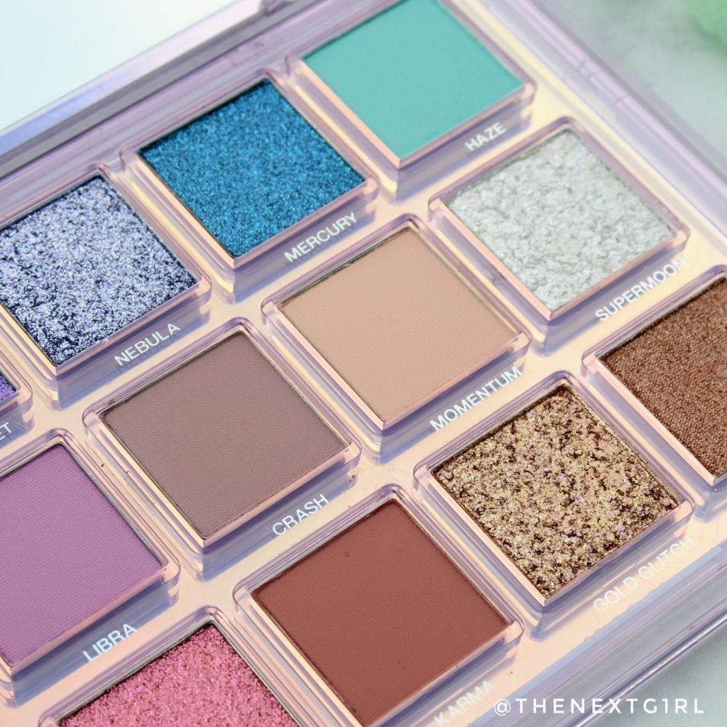Huda Beauty palette 2020 kleuren 2