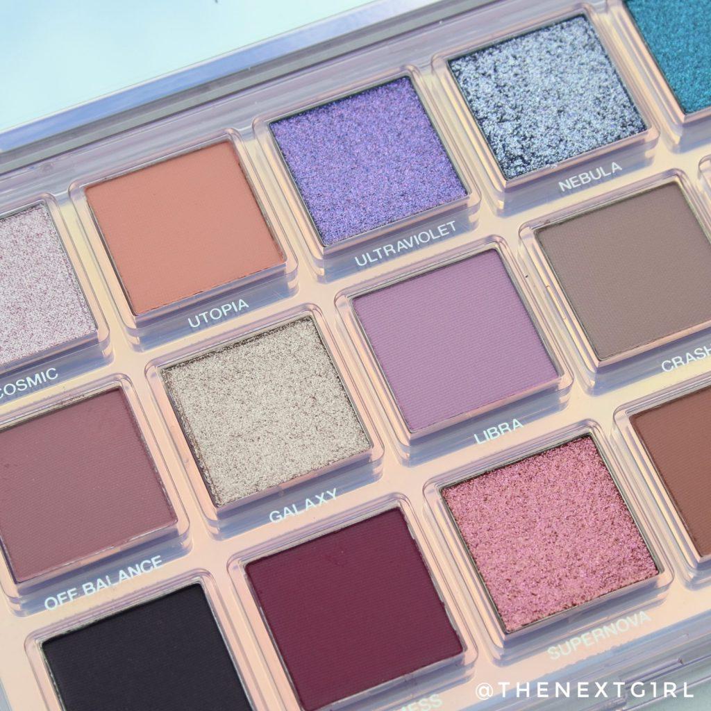 Huda Beauty palette 2020 kleuren