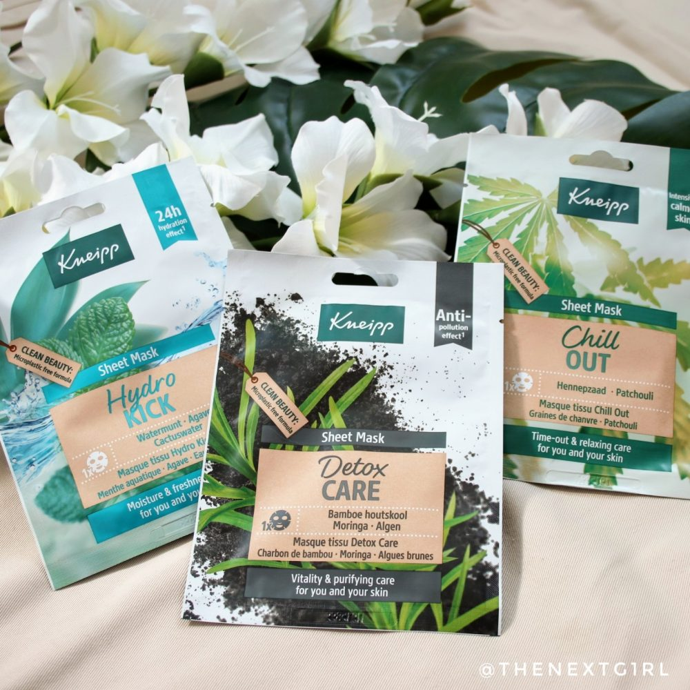 Kneipp sheetmaskers