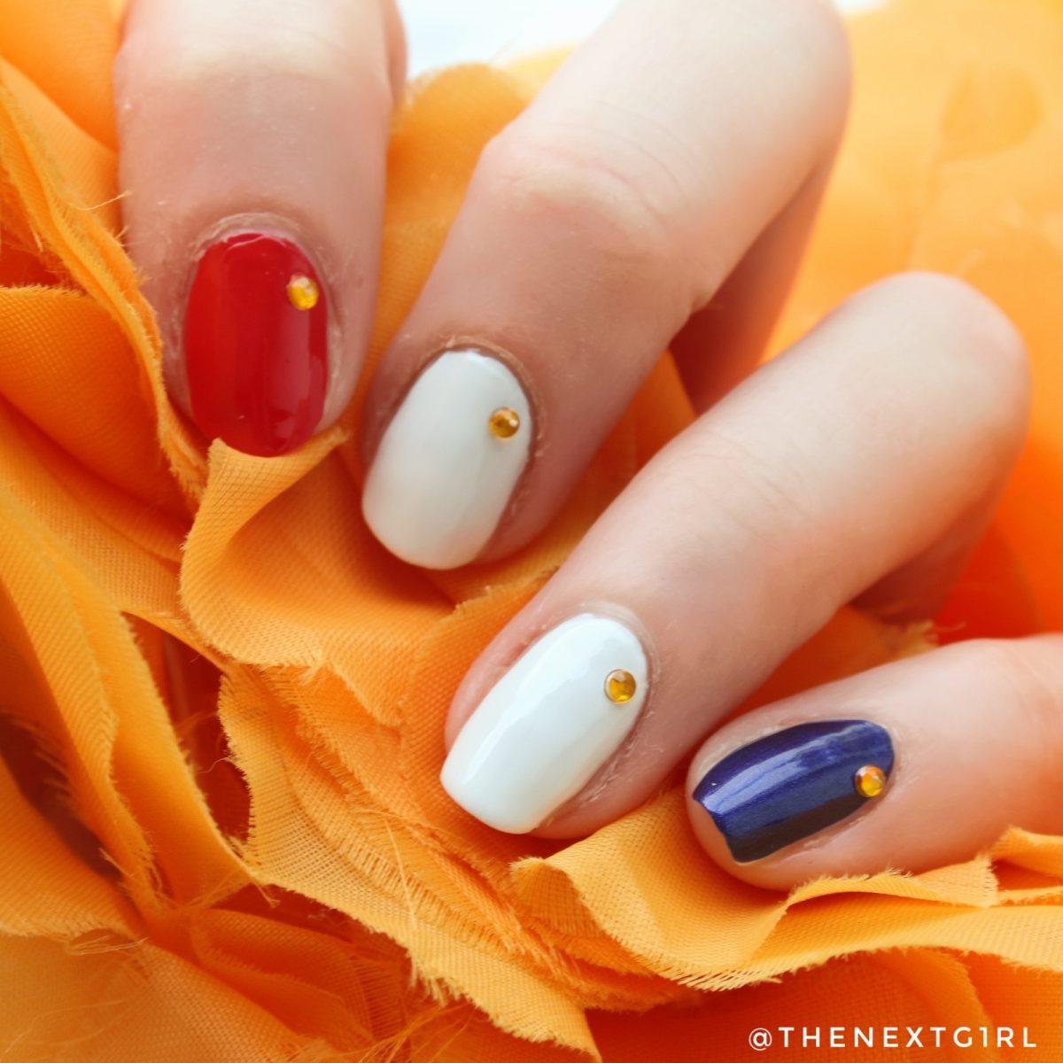 Koningsdag 2020 nailart nederlandse vlag oranje