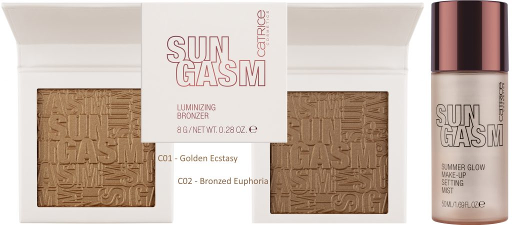 Catrice LE Sungasm zomer 2020 bronzers setting mist zomer