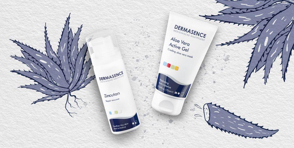 Dermasence aftersun producten