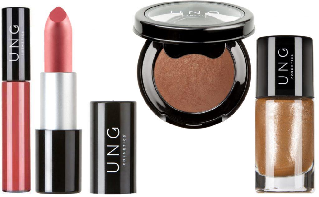 UNG Cosmetics Warm Overheated nagellak blush lipstick