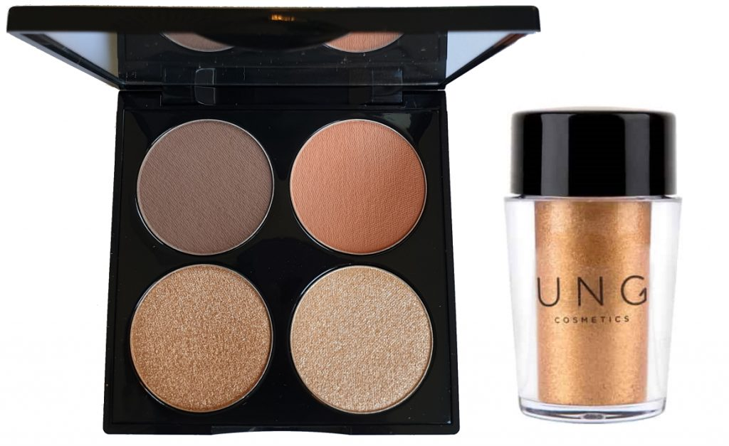 UNG Cosmetics Warm Overheated palette pigment