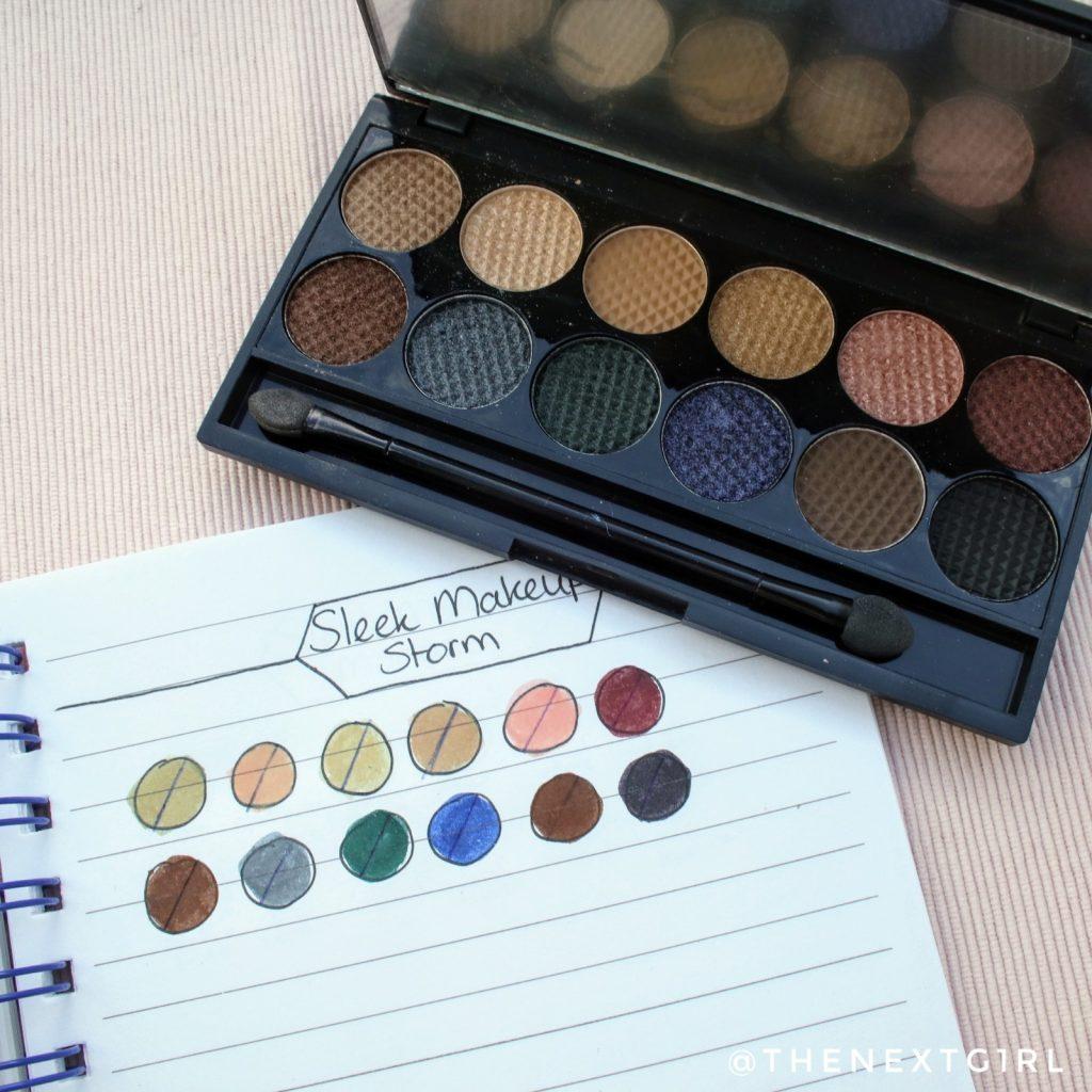 Sleek Makeup Storm palette