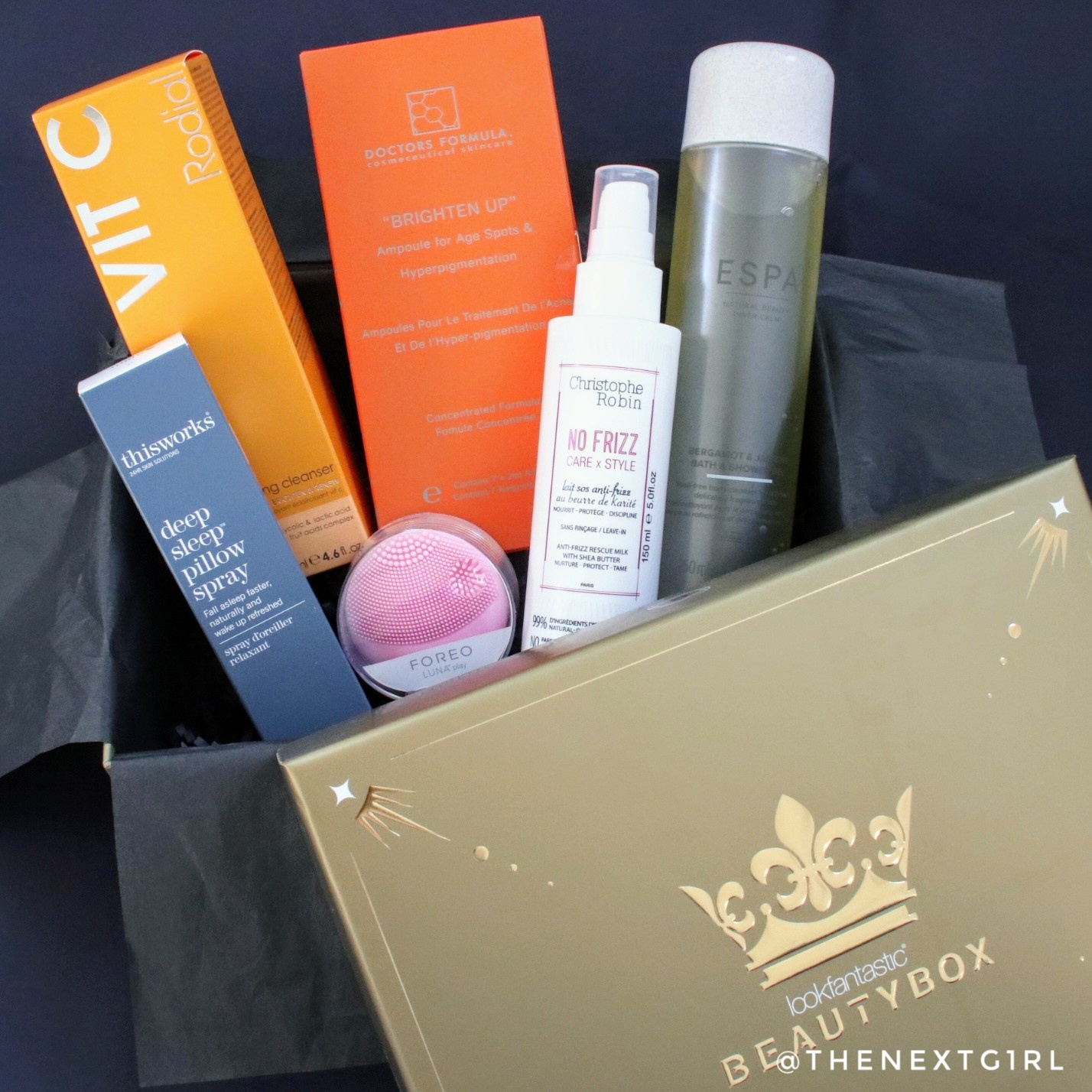 Lookfantastic beautybox The Royal Box inhoud