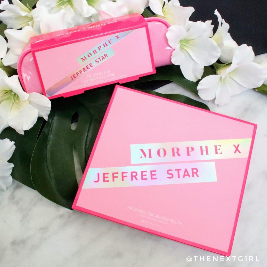 Morphe x Jeffree Star kwastenset oogschaduwpalette