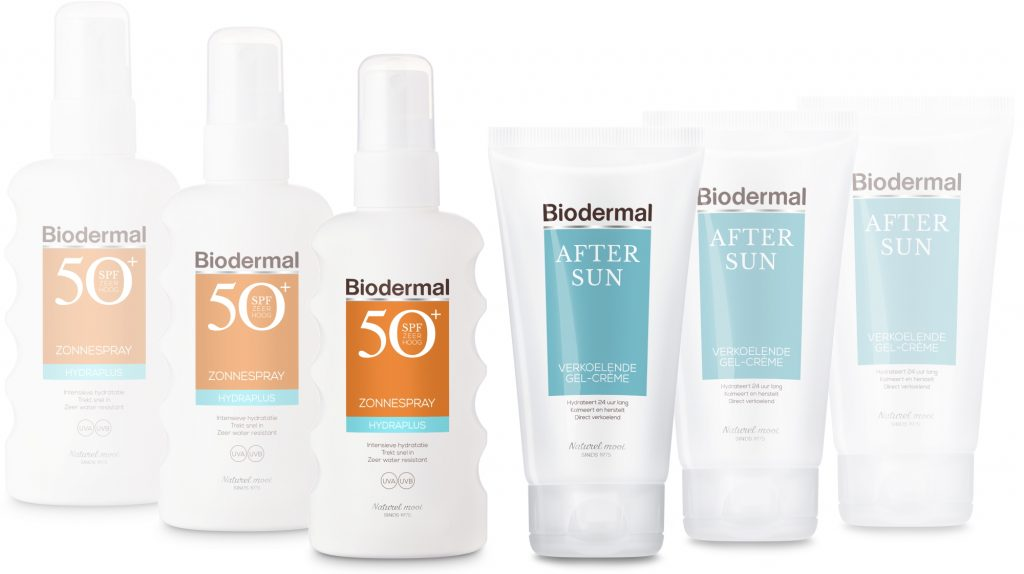 Biodermal zonnebrandcreme aftersun gel