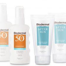 Biodermal zonnebrandcreme aftersun gel