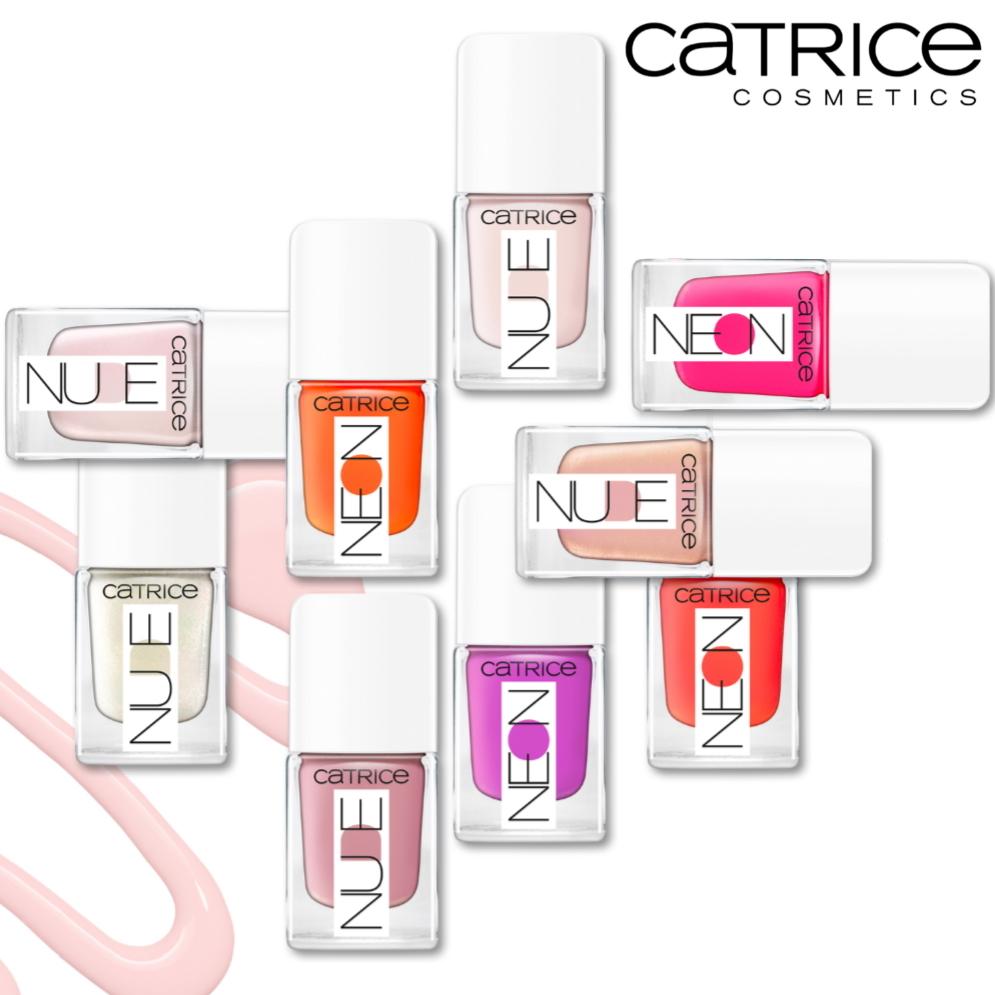 Catrice Neonude nagellak najaar 2020 square