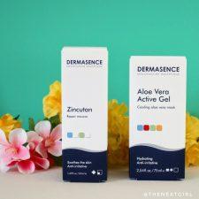 Dermasence zonproducten aloe vera zincutan mousse