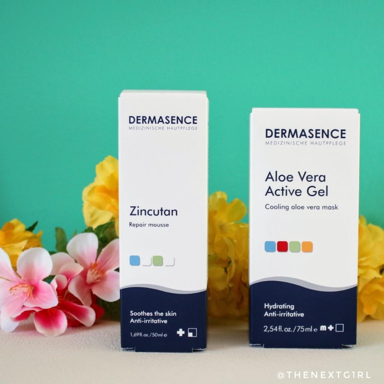 Review: Dermasence after sun producten