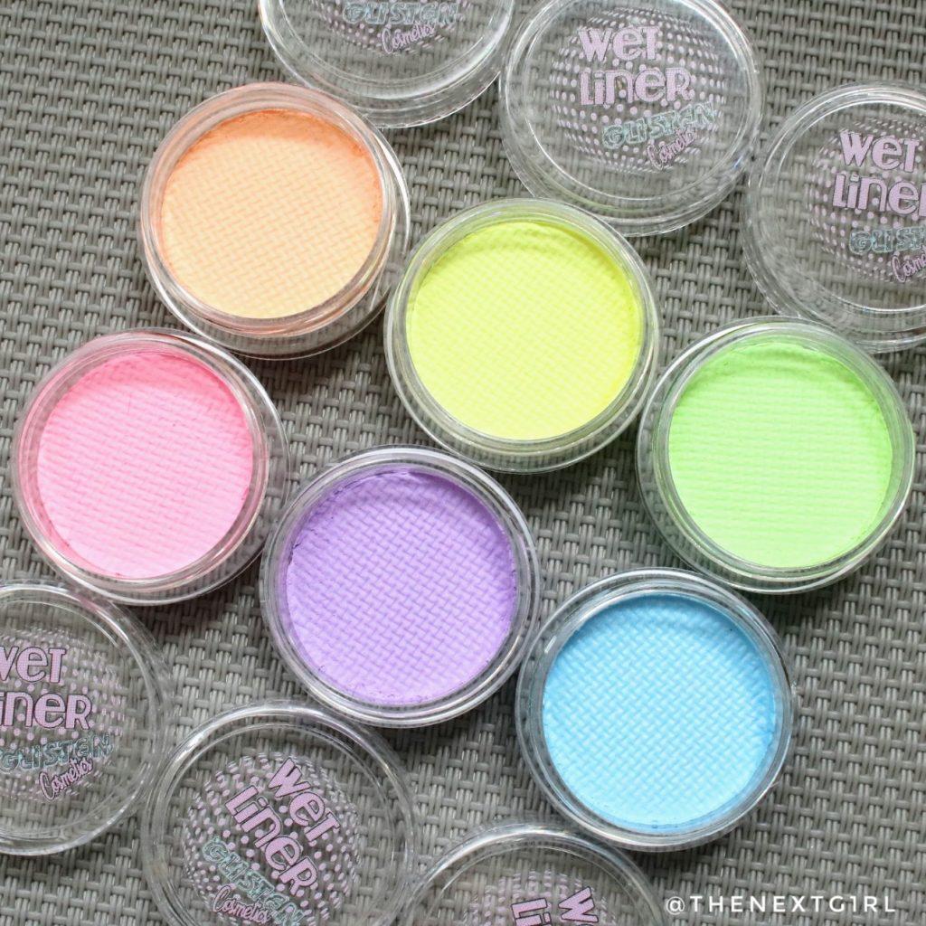 Glisten pastel kleuren eyeliners