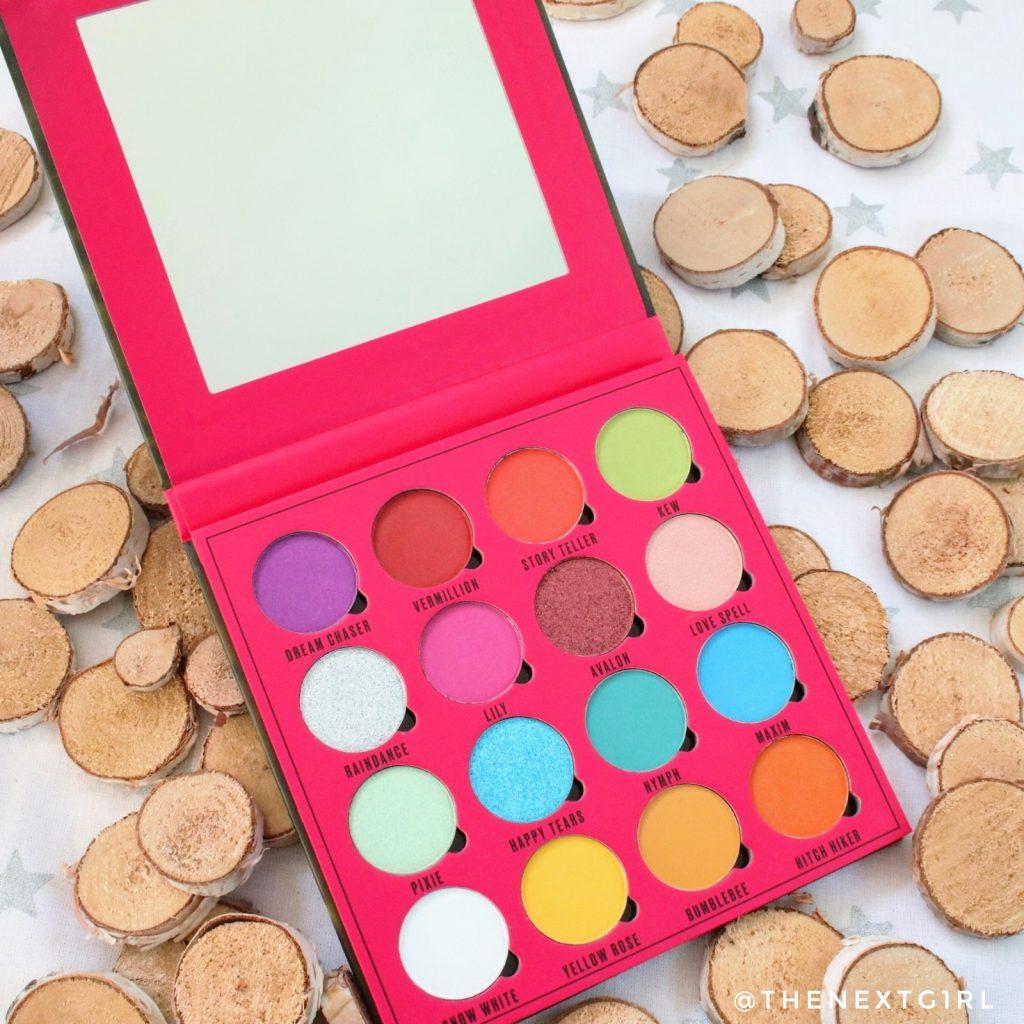 makeupobsession oogschaduwpalette daydream