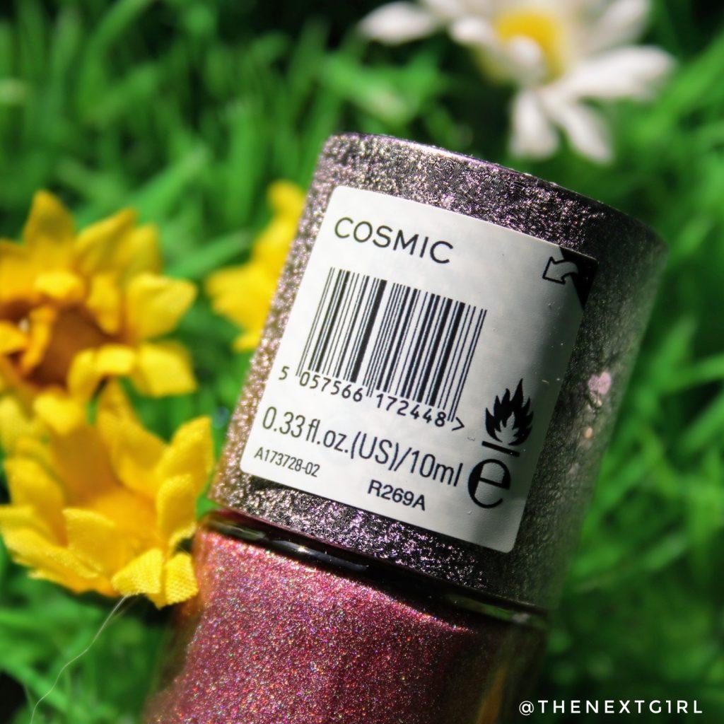 Makeup Revolution nagellak Cosmic holografisch